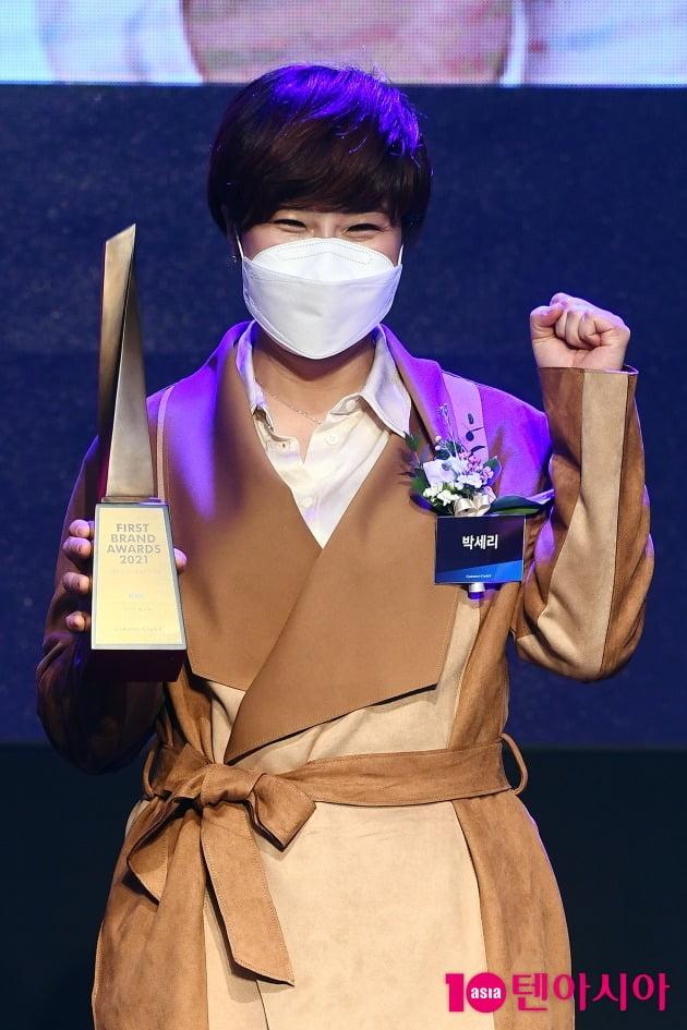 [TEN 포토] 박세리 '매력적인 눈웃음'