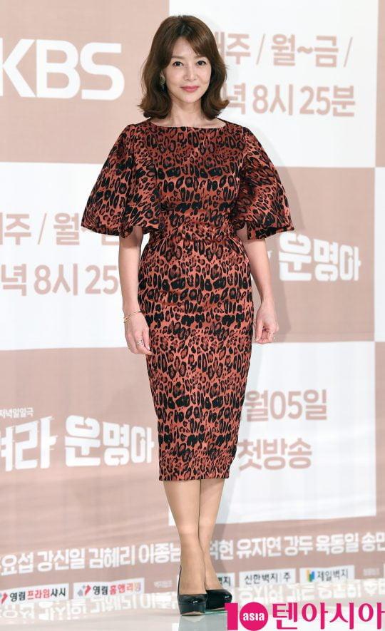 배우 김혜리. /텐아시아DB