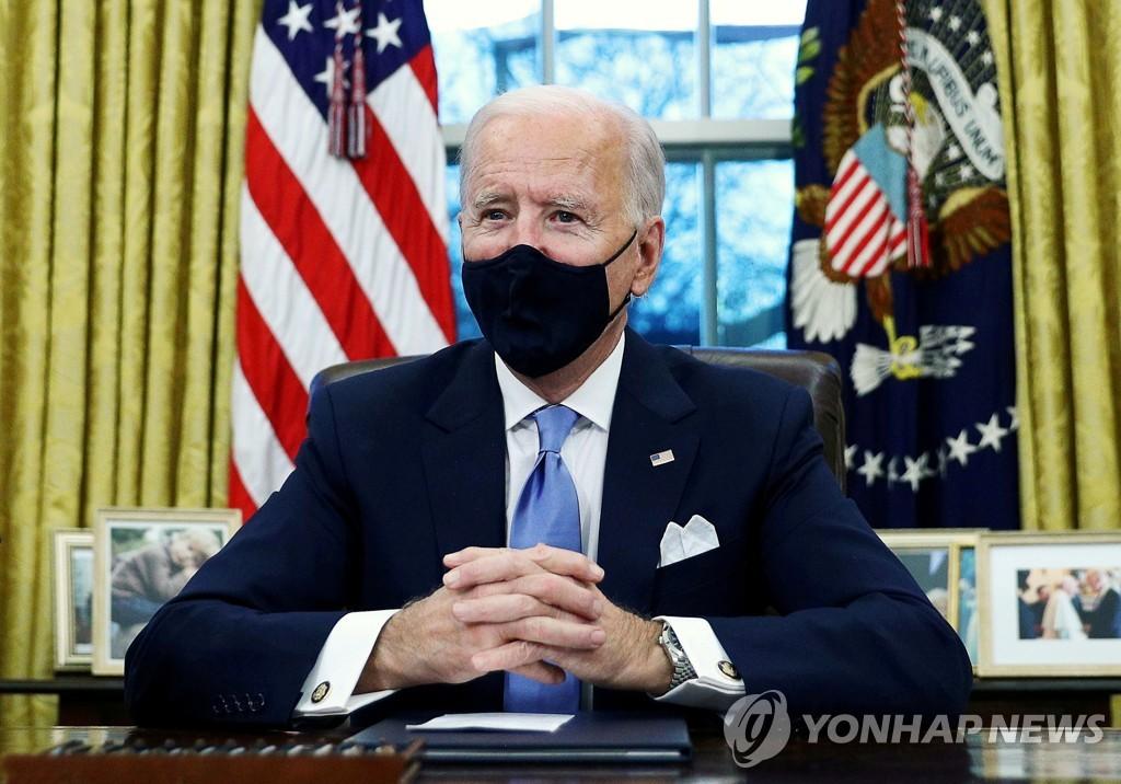 """바이든-마크롱 첫 통화…""""코로나·기후변화·이란핵 긴밀 협력"""""""
