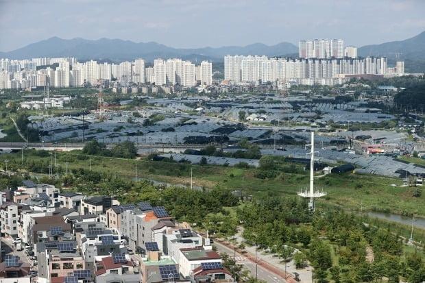 3기 신도시가 들어설 예정인 경기 고양 창릉지구 일대의 모습. 연합뉴스