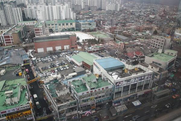 서울 강북 한 재개발구역의 모습. 연합뉴스