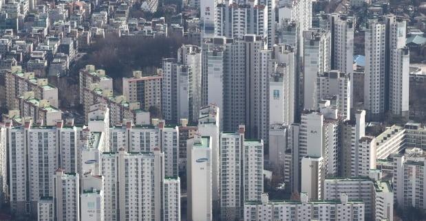 서울 시내 아파트 단지 전경. /연합뉴스