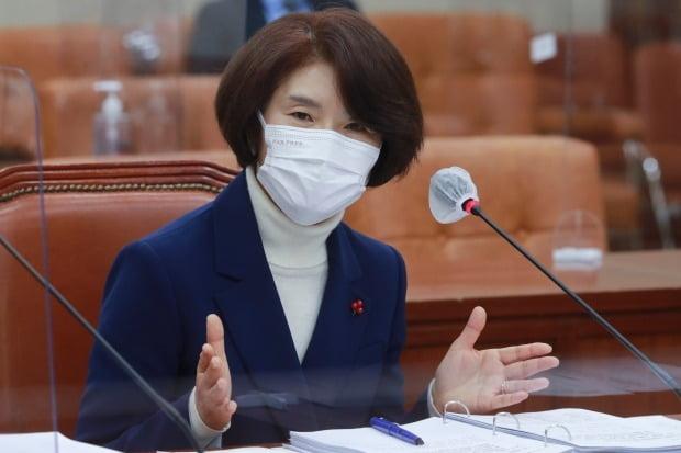 한정애 환경부 장관 후보자/사진=연합뉴스