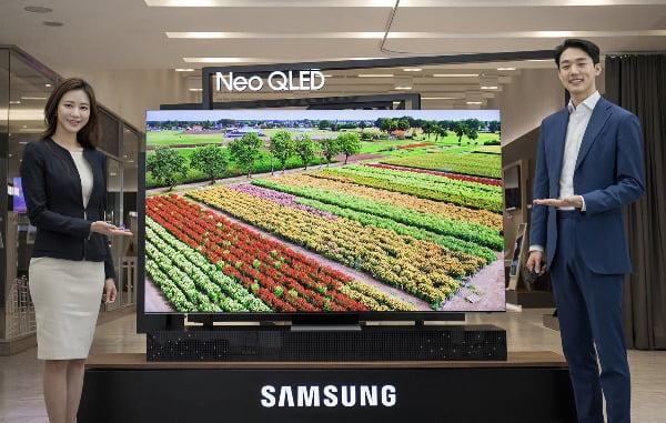 삼성 '네오 QLED TV'/사진제공=삼성전자