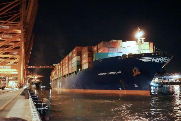 HMM, 유럽 노선에 첫 임시선박 투입
