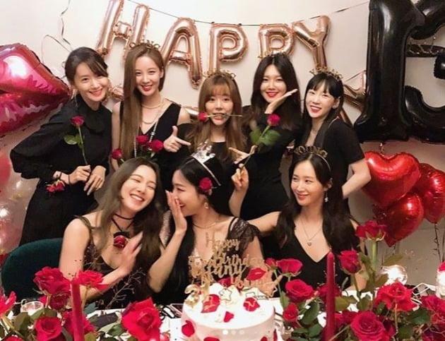 소녀시대 /사진=SNS