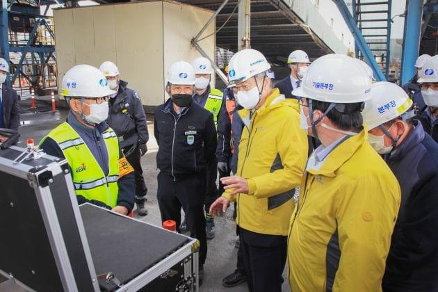 한국남부발전, 발전소 친환경 전력생산과 안전강화 현장경영 박차