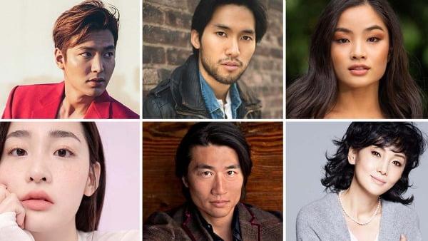 애플이 지난해 10월 한국에서 촬영을 시작한 애플TV+ 오리지널 드라마 '파친코'에 출연하는 배우들. 파친코는 4대에 걸친 한국인 이민 가족의 대서사를 통해, 역사가 관통한 개인의 이야기를 방대한 스케일과 깊이 있는 필치로 총 8부작에 걸쳐 담아낼 예정이다. 한국을 비롯하여 일본과 미국 배우들이 캐스팅된 글로벌 대작으로 알려졌다.