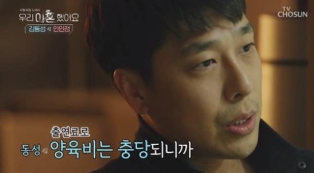 '우리 이혼했어요' 김동성 출연 모습 /사진=TV조선 방송화면 캡처