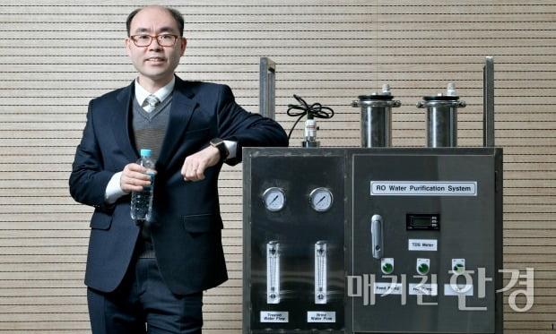 박순호 글로리엔텍 대표. 사진=김기남 기자