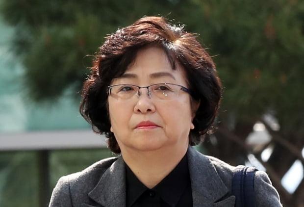 `환경부 블랙리스트' 의혹으로 기소된 김은경 전 환경부 장관에게 검찰이 징역 5년의 실형을 구형했다. 사진=연합뉴스