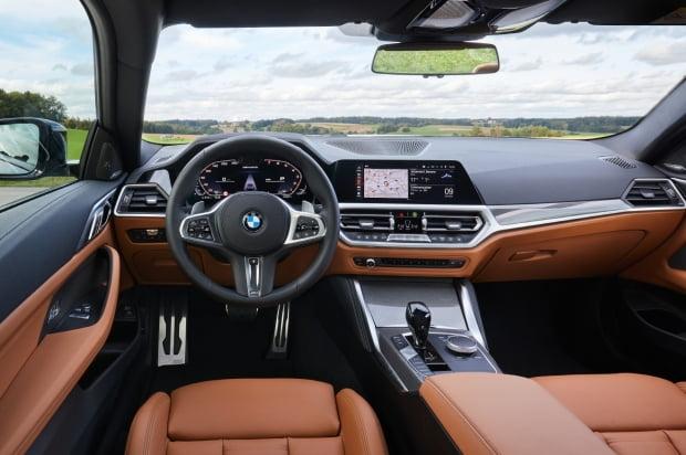 BMW 뉴 4시리즈 실내 모습. 사진=BMW