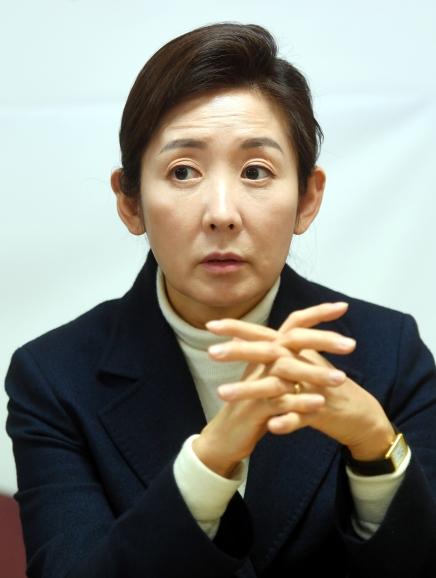 나경원 서울시장 후보. /허문찬기자  sweat@hankyung.com