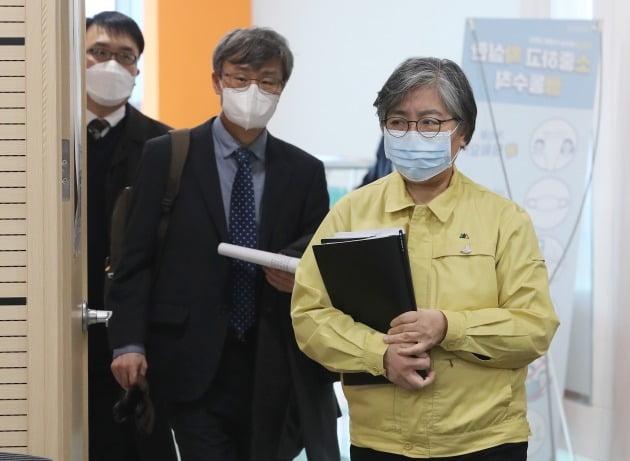 정은경 중앙방역대책본부장(질병관리청장) [사진=연합뉴스]