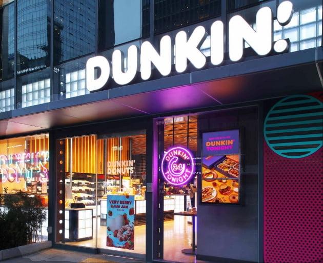 도넛은 아침에? '야식 배달' 노리는 던킨…24시간 영업한다