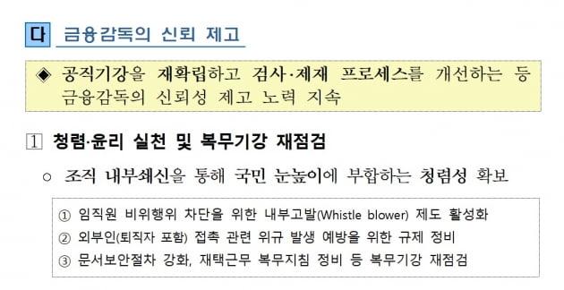 '룸살롱에서 문서 전달' 사라질까…금감원의 대책 3개 [박종서의 금융형통]