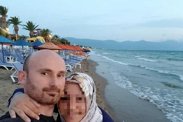남편 하칸 아이살(40)과 아내 셈라 아이살(32) [사진=데일리메일 캡처]