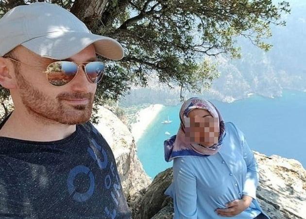 사건이 발생하기 직전 남편 하칸 아이살(40)과 아내 셈라 아이살(32)의 모습 [사진=데일리메일 캡처]