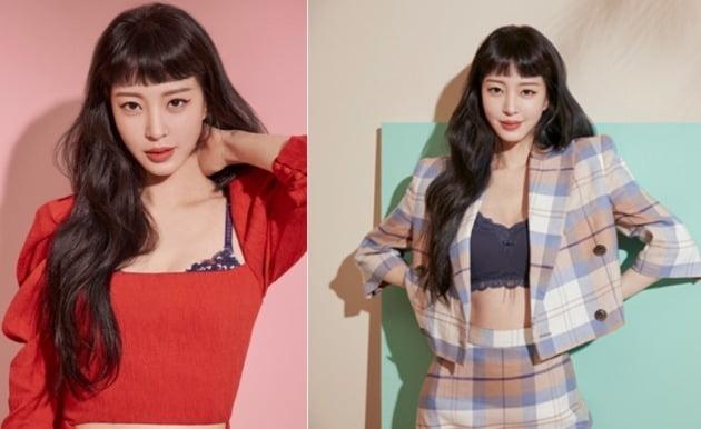 좋은사람들의 대표 브랜드인 '보디가드' 모델로 발탁된 배우 한예슬 / 사진제공= 좋은사람들