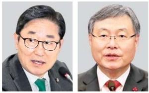 박범계 법무부 장관·신현수 민정수석