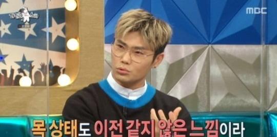 """'라스' 김범수, 급성 후두염 고백 """"무대에서 트라우마 겪었다"""""""