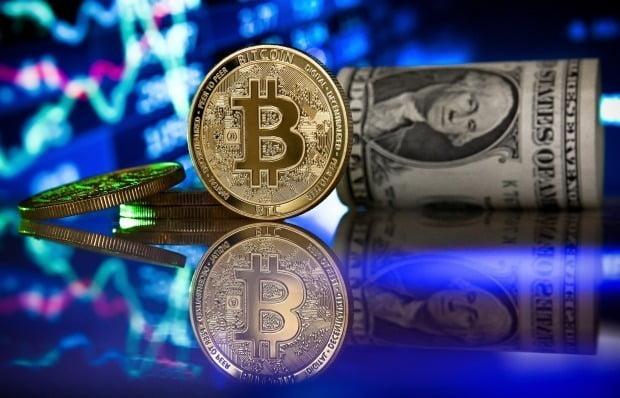 비트코인 가격이 22일(현지시간) 미국 시장에서 급락했다. EPA연합뉴스