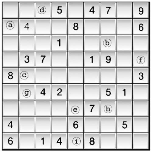 [수학 두뇌를 키워라] 스도쿠 여행 (575)