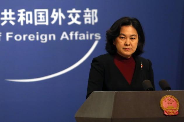 화춘잉 중국 외교부 대변인. /사진=연합뉴스