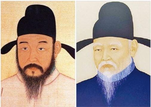 조선시대 명재상으로 이름을 날린 황희(왼쪽)는 겸손한 자세와 치우침 없는 몸가짐으로 24년간 정승을 지냈다. 같은 시대의 청백리 맹사성도 남을 높이고 자신을 낮추는 '겸손 리더십'으로 존경을 받았다.