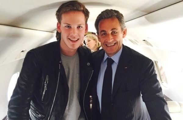 잉글랜드 프로축구 구단 선덜랜드의 구단주가 된 키릴 루이 드레퓌스와 니콜라스 사르코지 전 프랑스 대통령(왼쪽부터)의 모습. /사진=드레퓌스 인스타그램