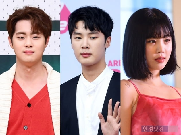 왼쪽부터 조병규, 김동희, 수진/사진=한경 DB