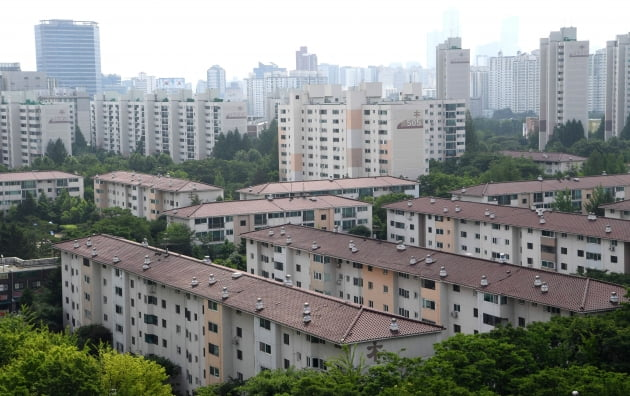 재건축이 추진되고 있는 서울 양천구 목동5단지아파트 및 6단지아파트 일대 전경. /사진=한경DB