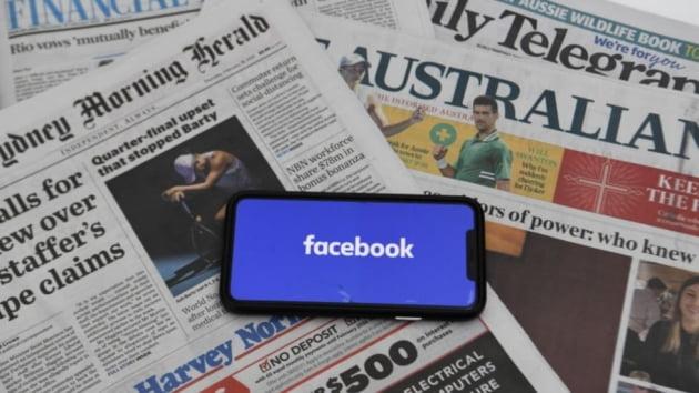 뉴스 콘텐츠 유료화 문제로 호주 정부와 갈등을 빚어온 페이스북. AP연합뉴스
