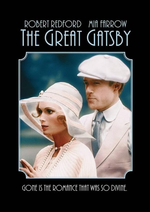 로버트 레드포드와 주연한 영화 '위대한 개츠비(1974)'의 미아 패로우. 여주인공 데이지로 열연했다