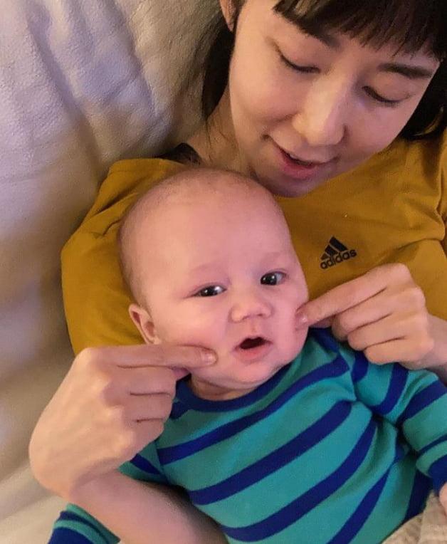 사유리와 아들 젠 /사진=인스타그램
