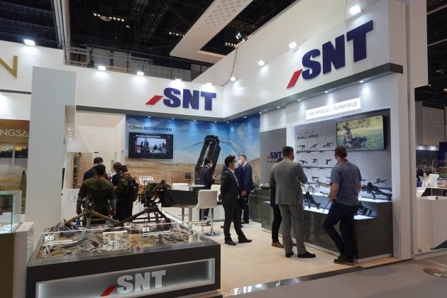 S&T그룹, 중동국가 최대 방산전시회 참가하며 해외시장 본격 공략