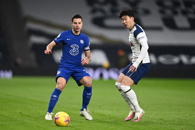 '손흥민 풀타임' 토트넘, 첼시에 0-1 패...3연패+8위 추락