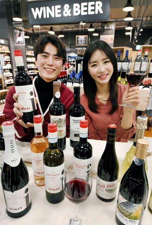집에서 마시는 유럽 한잔…홈플러스, 유럽산 와인 23종 론칭