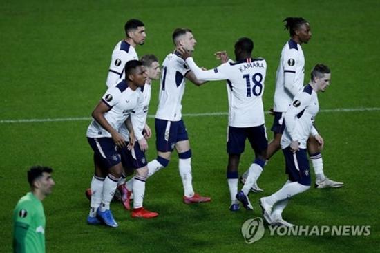 제라드의 레인저스, 앤트워프에 극장승...시즌 1패 팀의 '위용'