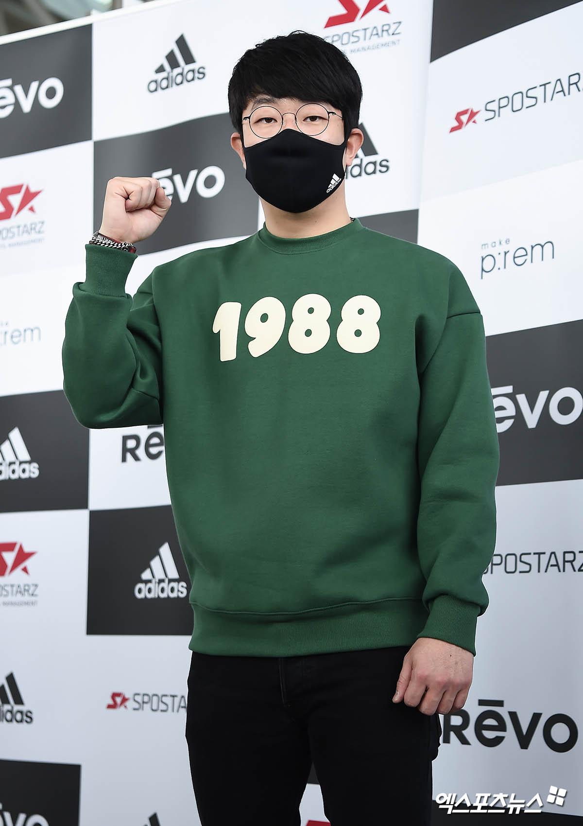 양현종 '메이저리그 진출 도전'[포토]