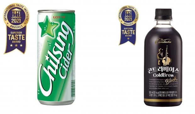 칠성사이다와 칸타타 콘트라베이스 콜드브루 블랙, 세계에서도 통했다! 벨기에 국제식음료품평회 '국제 우수 미각상' 수상