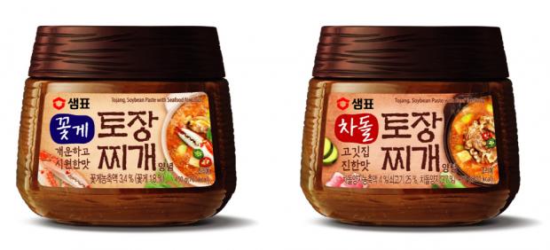 샘표, 프리미엄 콩 된장 1위 토장으로 만든 '꽃게 토장찌개', '차돌 토장찌개' 출시