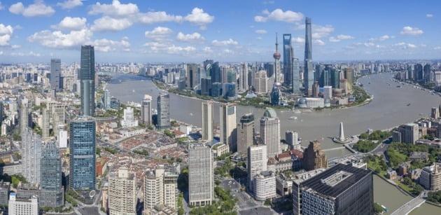 중국 상하이 중심부의 고층빌딩들. / 사진=게티이미지뱅크