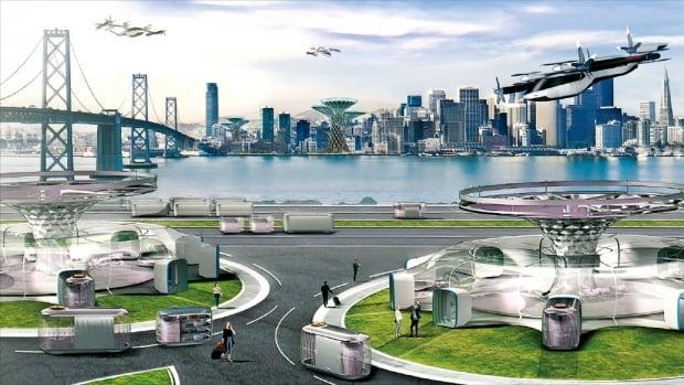 현대차가의 미래 모빌리티 생태계 비전. 사진=현대차