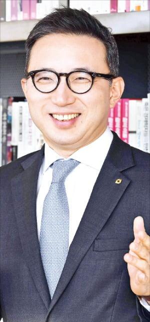 나유석 대신증권 IPO 담당 상무가 서울 을지로 본사에서 올해 계획에 대해 설명하고 있다.  김영우 기자 youngwoo@hankyung.com