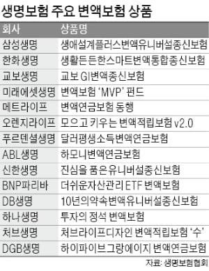"""변액보험·DC형 퇴직연금·IRP…""""주식형 상품으로 갈아타자"""""""