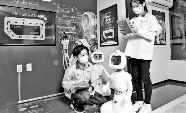 [포토] 한컴로보틱스, 잠실에 로봇 테마파크 개관