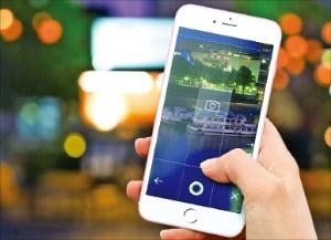▲비지트 360도VR 사진촬영 앱 '라운드픽'