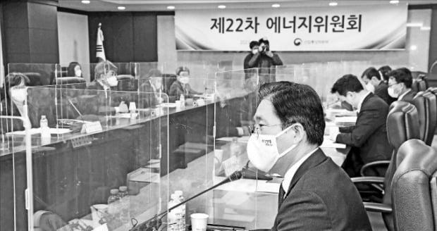 [포토] '에너지위원회' 주재한 성윤모 장관