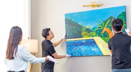 미술품 구독 시대…월 10만원이면 평범한 거실이 갤러리로